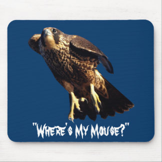 Flying PEREGRINE FALCON Collection Mouse Pad
