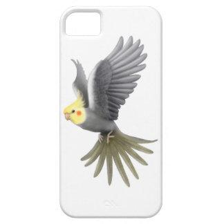 Flying Pet Cockatiel Parrot iPhone Case