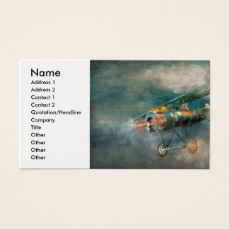 Flying Pig - Acts of a pig Business Card