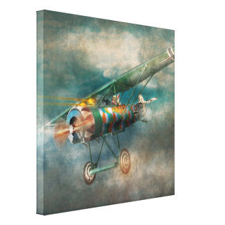 Flying Pig - Acts of a pig Canvas Print