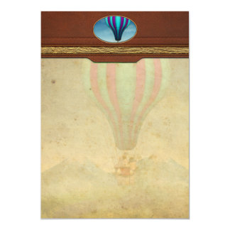 Flying Pig - Balloon - Up up and Away Card