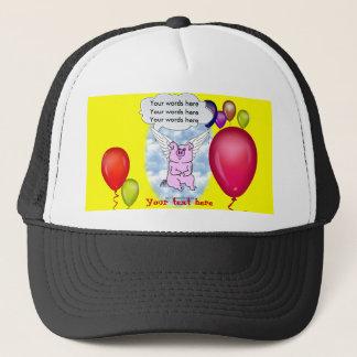 Flying Pig Birthday Trucker Hat