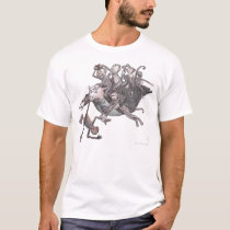 Flying Pig Carrying Monkeys! T-Shirt