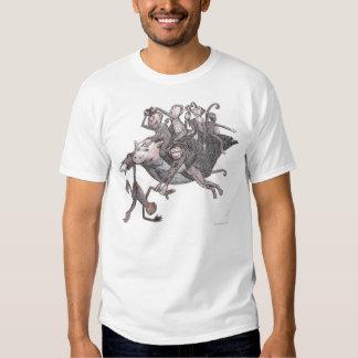 Flying Pig Carrying Monkeys! Tshirt
