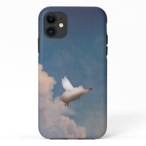 flying pig iPhone 11 case