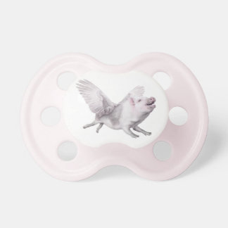 Flying Pig Creative Baby Shower Pacifier Decorate BooginHead Pacifier