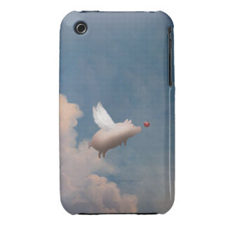 flying pig Custom iPhone 3G/3GS Case