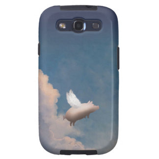 flying pig custom Samsung Galaxy Case