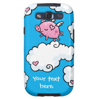 Flying pig dances on clouds galaxy SIII case