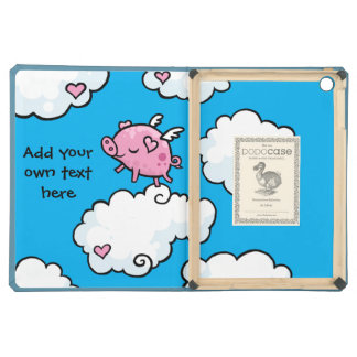 Flying Pig Dances on Clouds Customisable Case For iPad Air