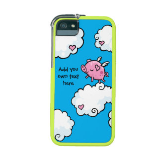 Flying Pig Dances on Clouds Customisable Case For iPhone SE/5/5s