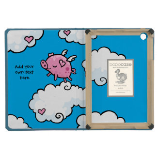 Flying Pig Dances on Clouds Customisable iPad Mini Case