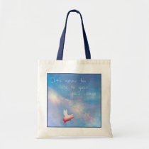 Flying Pig-Grow Your Wings Tote Bag