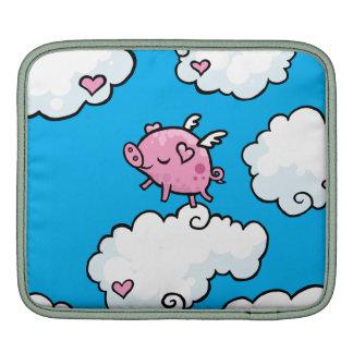 Flying Pig Ipad sleeve