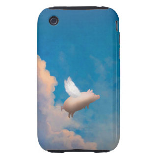 flying pig  iPhone 3G/3GS Case