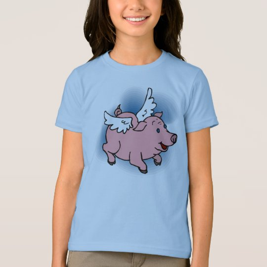 Flying Pig Kid's Tees - Matching Shoes!