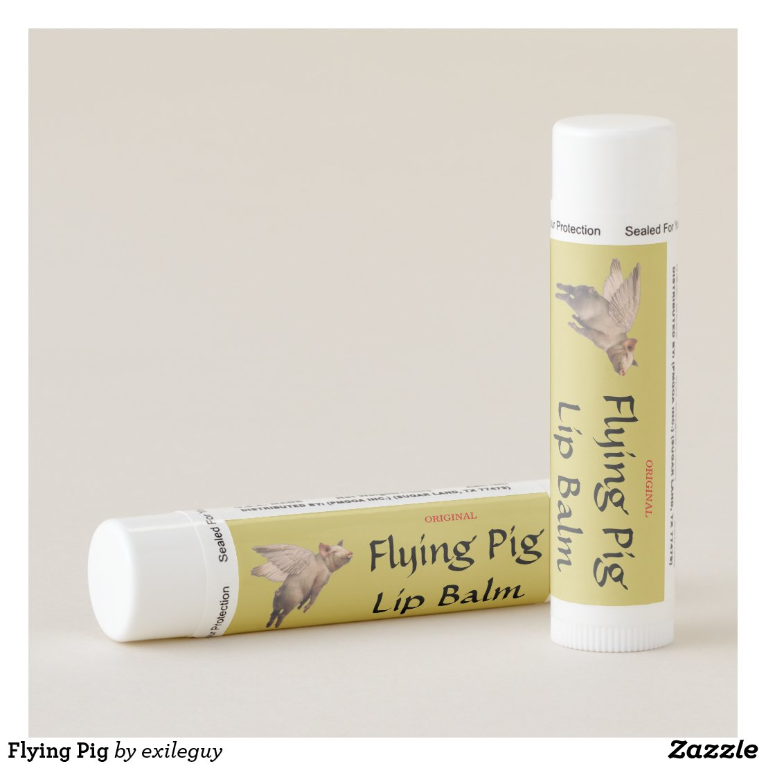 Flying Pig Lip Balm