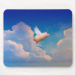"flying pig mousepad<br><div class=""desc"">by pigswing productions</div>"