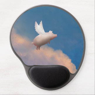 flying pig mousepad gel mouse pad