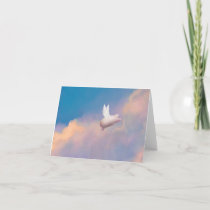 flying pig note card