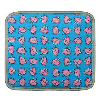 Flying Pig pattern iPad Sleeve