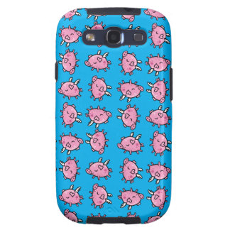 Flying Pig Pattern Samsung Case Galaxy SIII Covers
