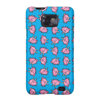 Flying Pig Pattern Samsung Case Galaxy SII Cover