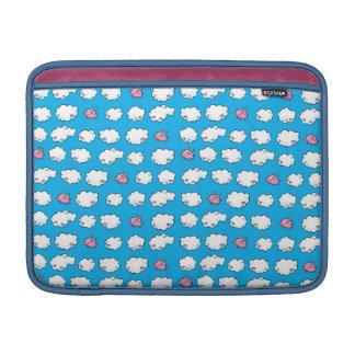 Flying Pig Patterned MacBook Sleeve