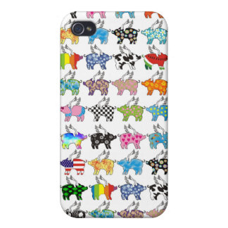 flying pig phone cover iPhone 4/4S cases