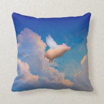 flying pig pillow