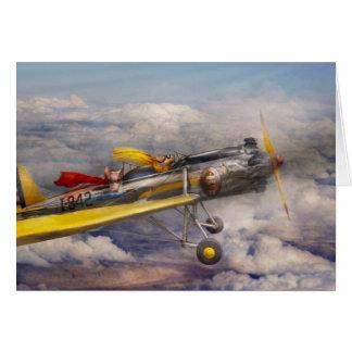 Flying Pig - Plane -The joy ride Card