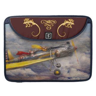 Flying Pig - Plane -The joy ride MacBook Pro Sleeves