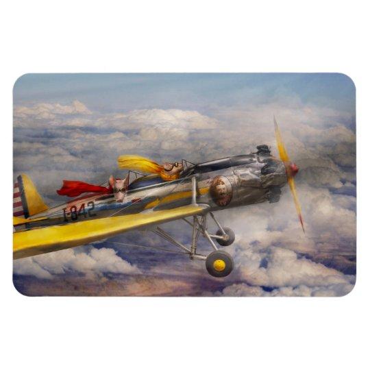Flying Pig - Plane -The joy ride Magnet
