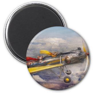 Flying Pig - Plane -The joy ride Refrigerator Magnets