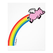Flying Pig Rainbow Flyer