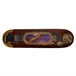 Flying Pig - Rocket - To the moon or bust Skateboard Decks
