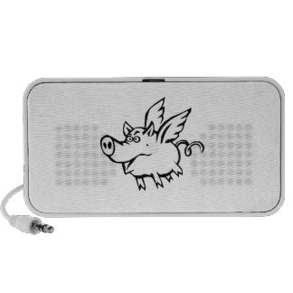 Flying Pig iPhone Speaker
