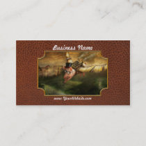 Flying Pig - Steampunk - The flying swine Business Card