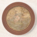 Flying Pig - Steampunk - The flying swine Drink Coaster