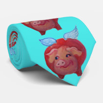 flying pig tie