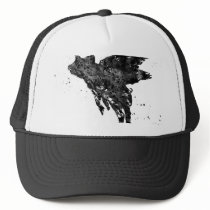 Flying Pig Trucker Hat