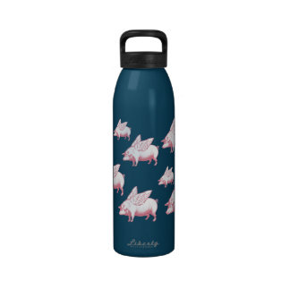 Flying Pig Reusable Water Bottles