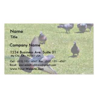 Flying Pigeon Business Card