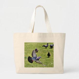 Flying Pigeon Large Tote Bag