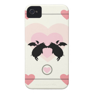 Flying piggies Case-Mate iPhone 4 cases