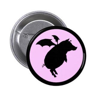 Flying piggy pin