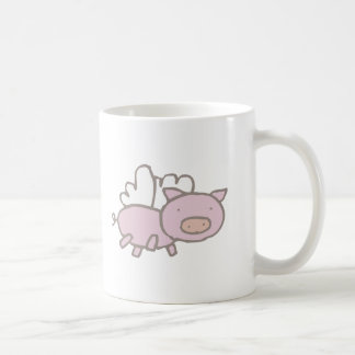 Flying Piggy Coffee Mug