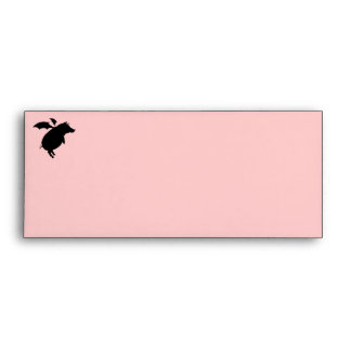 Flying piggy envelopes