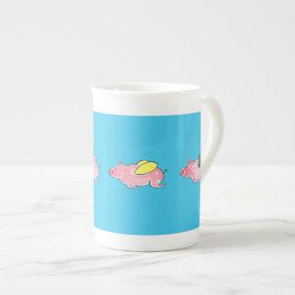Flying Pigs Bone China Mug