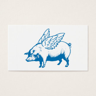 Flying Pigs Business Cards